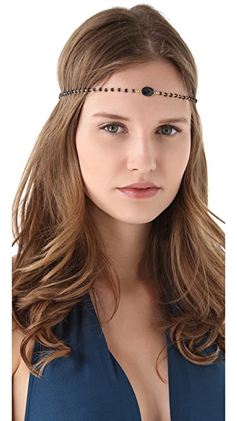 Dauphines of New York September Birthday Party Headband