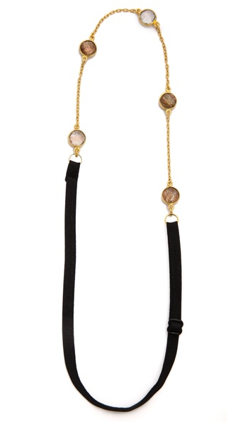 Dauphines Of New York The Mini Band Headband - Gold Sparkle at Shopbop / East Dane
