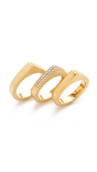 Dean Davidson Stacked Ring Set