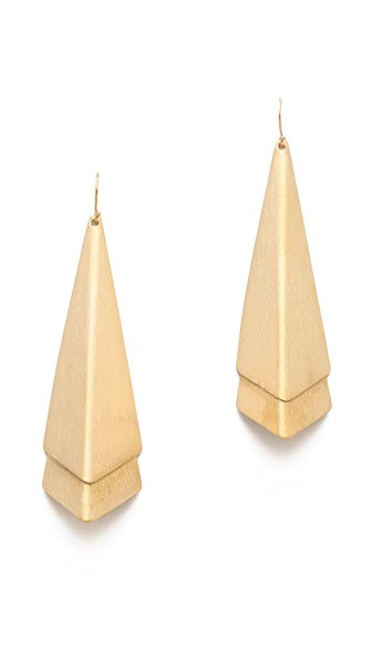 Dean Davidson Layered Arrow Drop Earrings