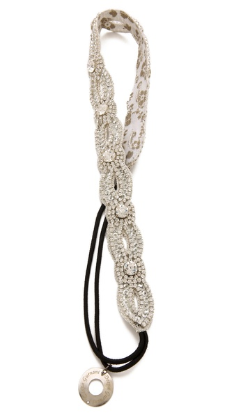 Deepa Gurnani Crystal Loop Headband