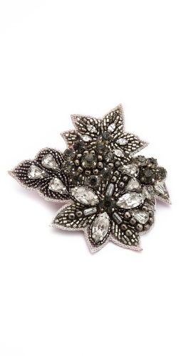 Deepa Gurnani Antique Crystal Hair Clip at Shopbop / East Dane