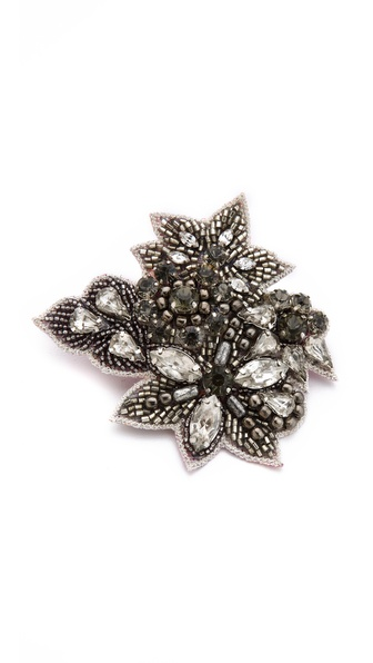 Deepa Gurnani Antique Crystal Hair Clip