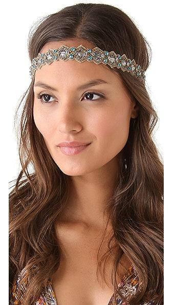 Deepa Gurnani Edwardian Crystal Headband