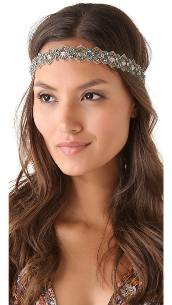 Deepa Gurnani Edwardian Crystal Headband