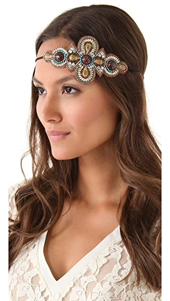 Deepa Gurnani Stone Applique Headband