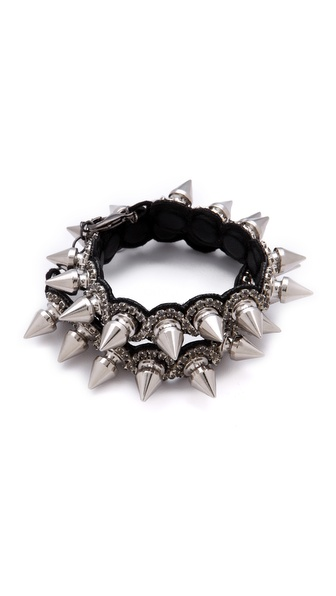 Deepa Gurnani Double Spike Cuff