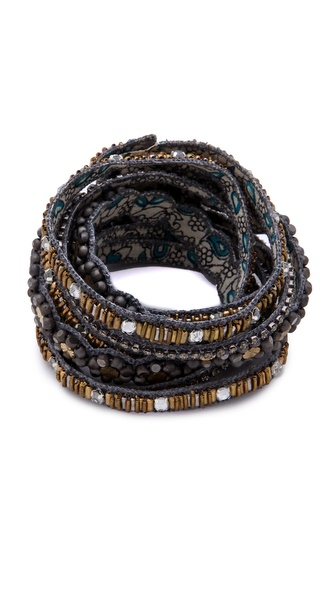 Deepa Gurnani Embellished Layered Bracelet