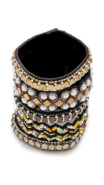 Deepa Gurnani Multi Patterned Cuff