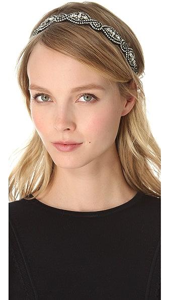 Deepa Gurnani Crystal Embellished Headband