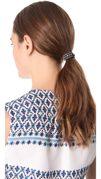 Deepa Gurnani Crystal Band Hair Tie