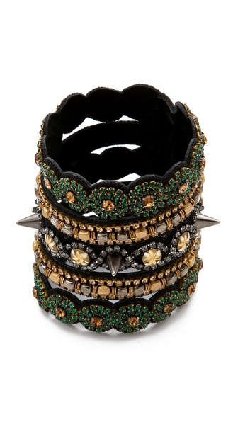 Deepa Gurnani Stacked Cuff