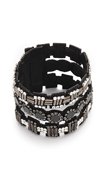 Deepa Gurnani Embellished Cut Out Cuff