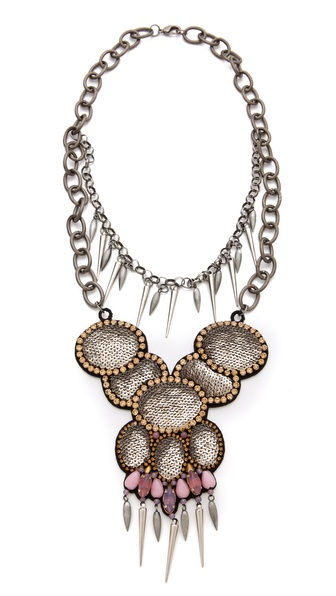 Deepa Gurnani Layered Statement Necklace