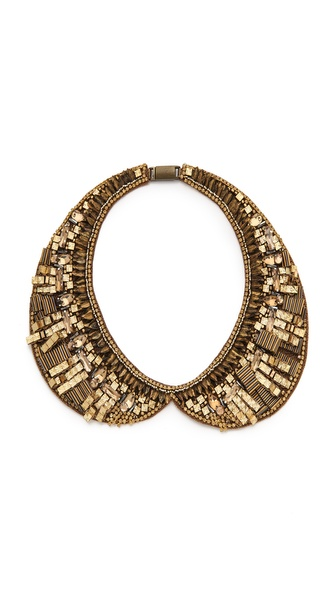 Deepa Gurnani Embellished Bib Collar
