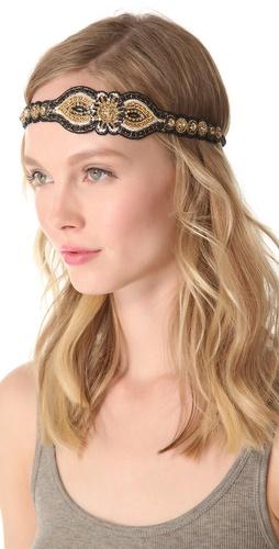 Deepa Gurnani Bright Embellished Headband