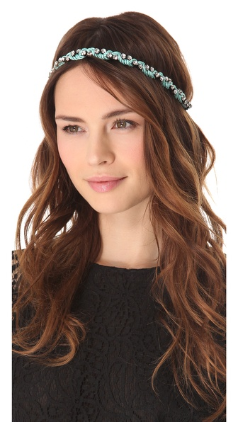 Deepa Gurnani Crystal Pastel Headband