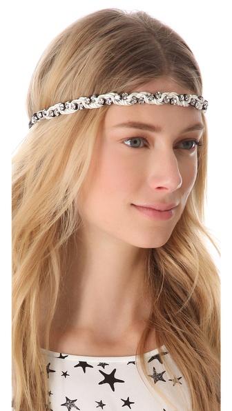 Deepa Gurnani Crystal Pastel Headband