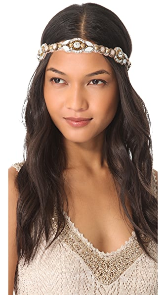 Deepa Gurnani Crystal Beaded Headband