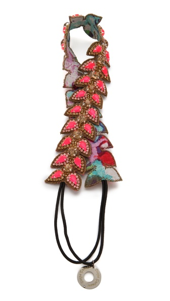 Deepa Gurnani Petal Stone Headband