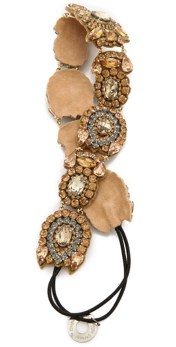 Deepa Gurnani Crystal Elaborate Headband at Shopbop / East Dane