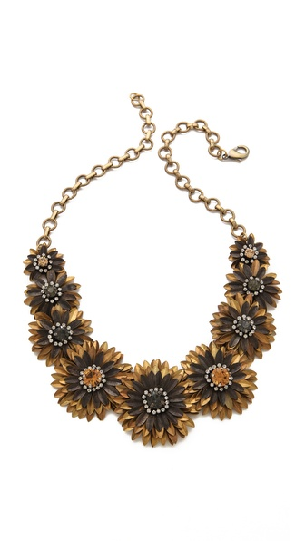 Deepa Gurnani Floral Necklace