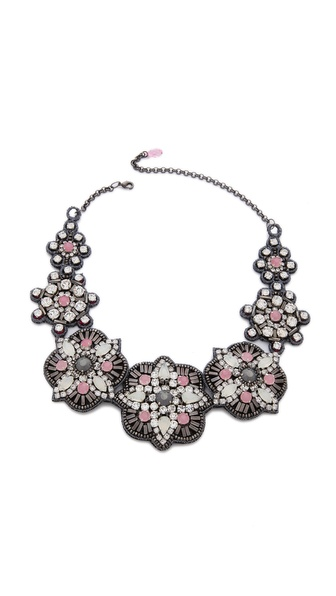 Deepa Gurnani Crystal Embellished Necklace