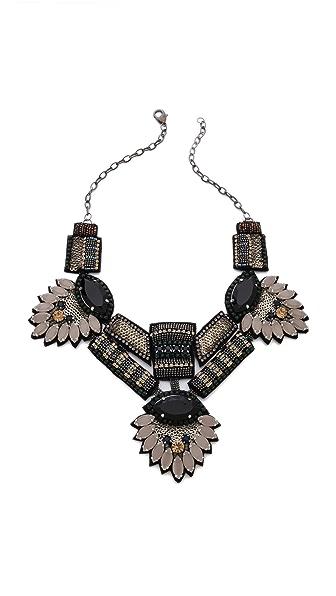 Deepa Gurnani Stone Statement Necklace