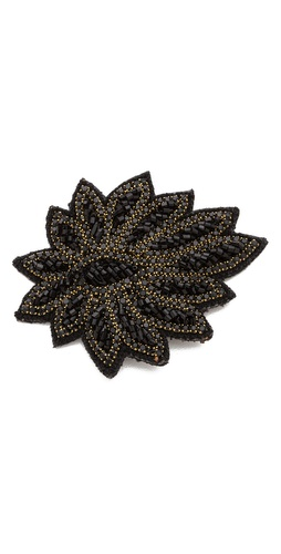 Deepa Gurnani Applique Crystal Hair Clip at Shopbop / East Dane