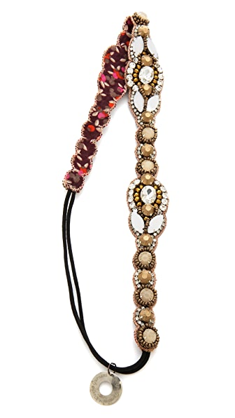 Deepa Gurnani Statement Crystal Headband