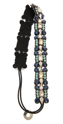 Deepa Gurnani Elegant Crystal Headband at Shopbop / East Dane