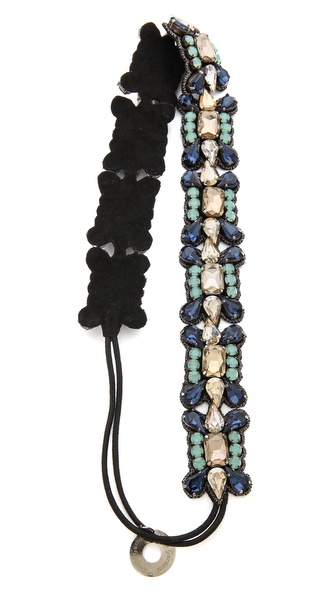 Deepa Gurnani Elegant Crystal Headband