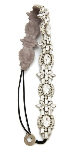 Deepa Gurnani Opulent Crystal Headband at Shopbop / East Dane