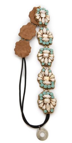 Deepa Gurnani Stone & Crystal Headband at Shopbop / East Dane