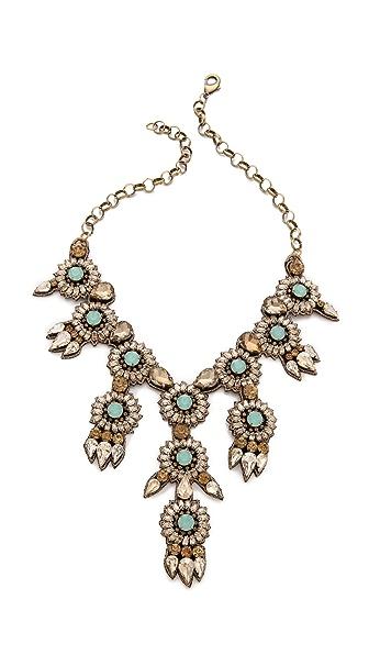 Deepa Gurnani Nobel Crystal Necklace