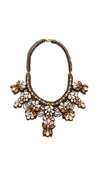 Deepa Gurnani Crystal Collar Necklace