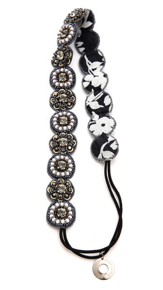Deepa Gurnani Stone Statement Headband