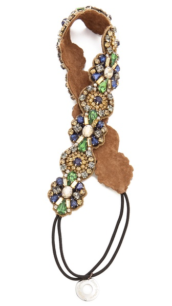 Deepa Gurnani Stone Regal Headband