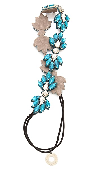 Deepa Gurnani Crystal Statement Headband