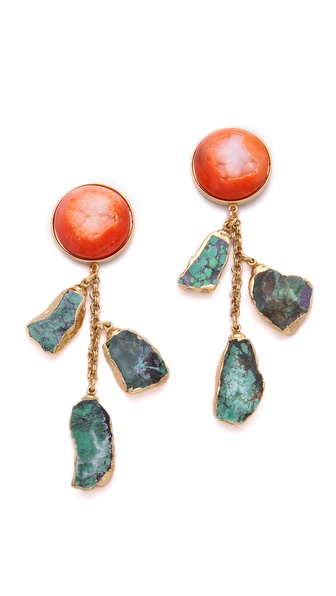 Dara Ettinger Agate Earrings