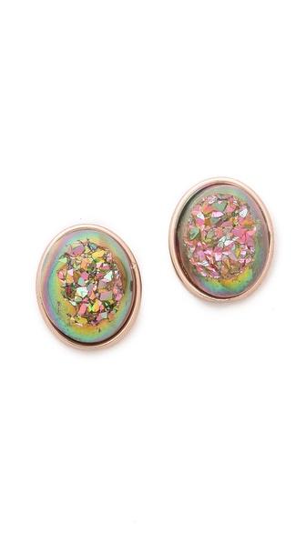 Dara Ettinger Alicia Oval Earrings