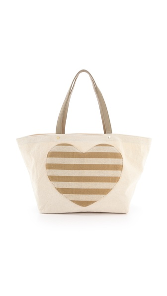 Deux Lux Lovetote Large Heart Shopper