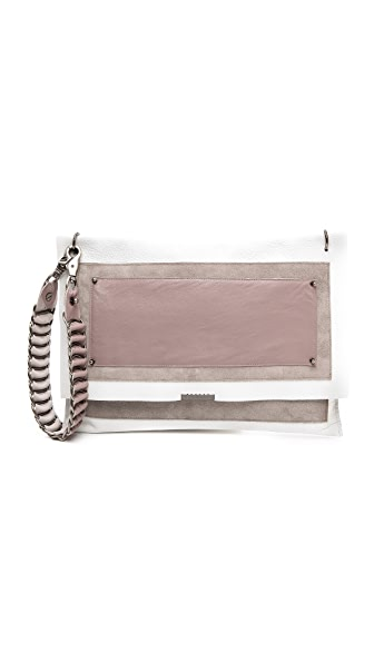 David Galan Sophia Long Strap Clutch