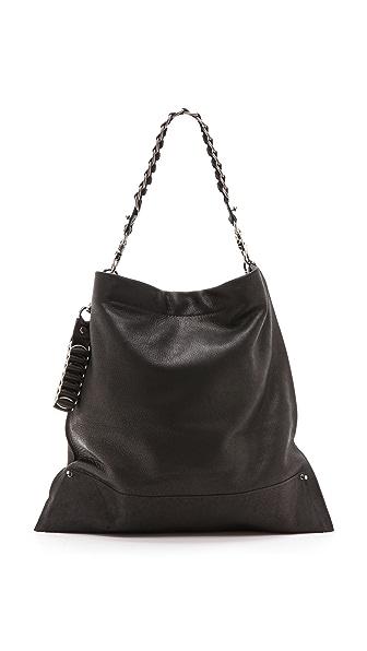 Large Courier Bag (Black)