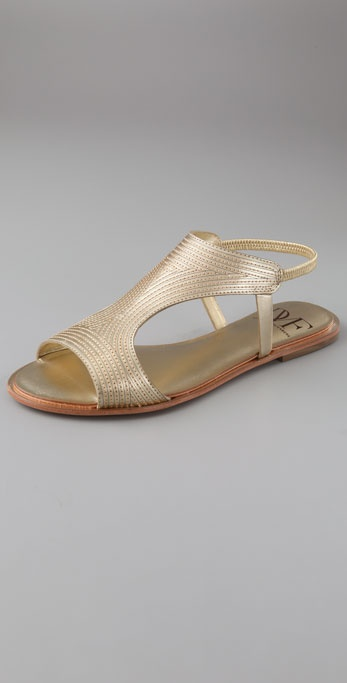 Diane von Furstenberg Karta Flat Sandals