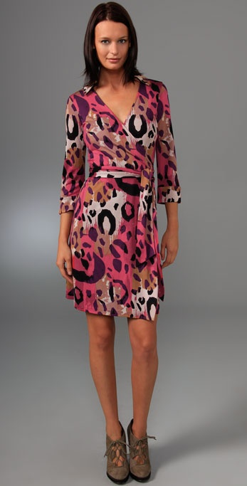 Diane von Furstenberg Justin Wrap Dress