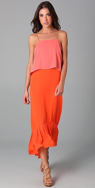Diane von Furstenberg Elalia Floor Length Dress