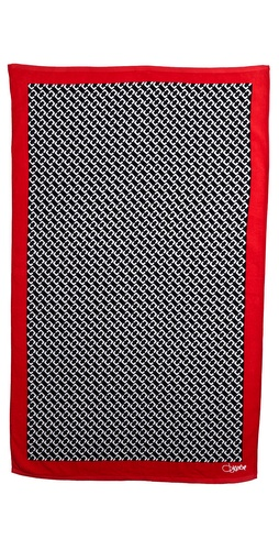 Diane von Furstenberg Chain Link Medium Beach Towel