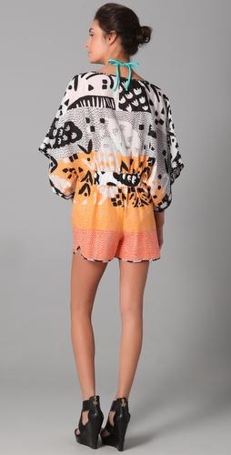 Diane von Furstenberg Kimono Romper