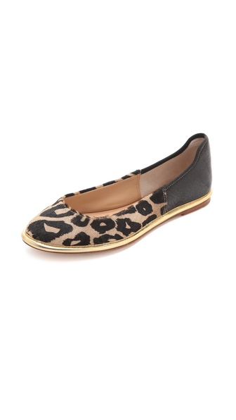 Diane von Furstenberg Botswana Haircalf Flats